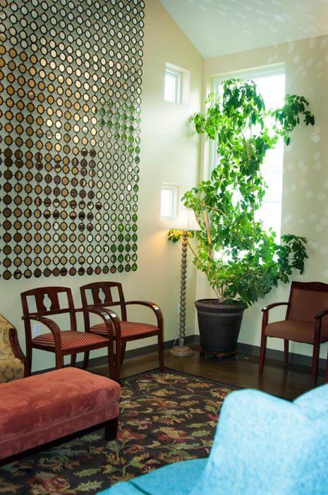 North Hills Interior lobby